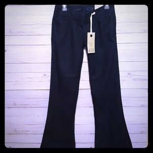 The Limited flare leg midnight blue jeans 2 short